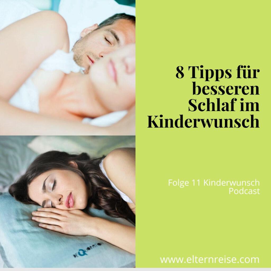 8 Tipps für besseren Schlaf im Kinderwunsch